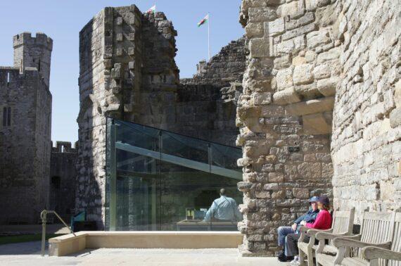 Caernarfon Castle, Entrance Pavilion