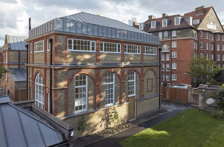 Donald Insall Associates advised Quinn Architects on proposals for the alteration of the Club Row building at Rochelle School, Shoreditch, London.