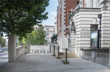 New accessible entrance to the Royal Academy of Music. Educational institutions based in historic buildings and places can face particular challenges in providing improved access to visitors.