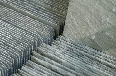 Freshly split slate