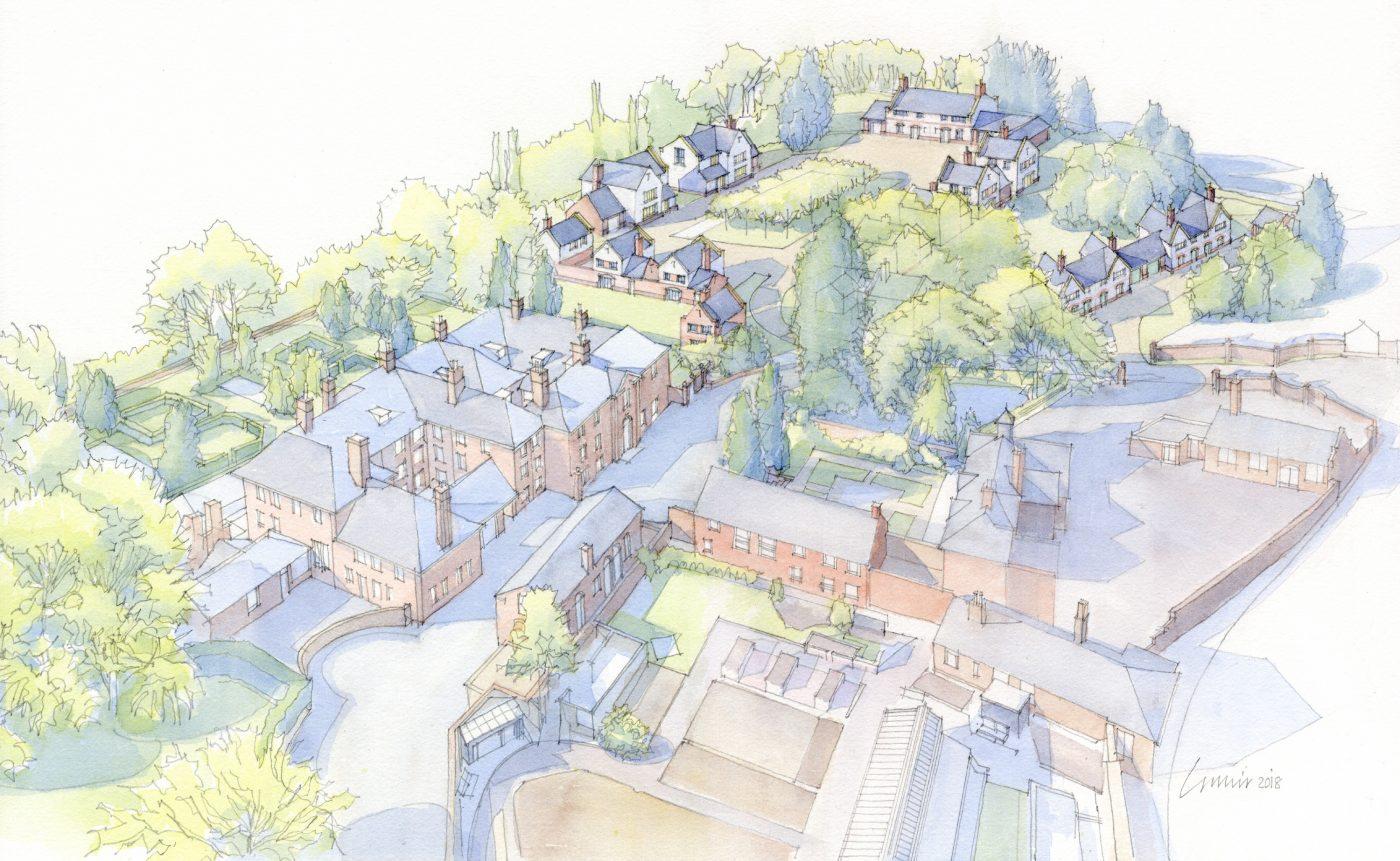 Donald Insall Associates Future Of Burton Manor Secured As Last
