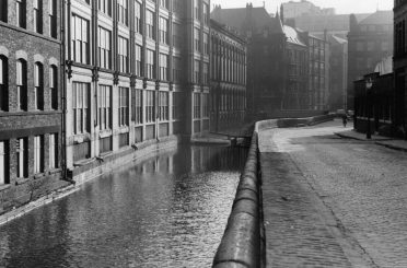 View from Canal Street 1963: We were later appointed to provide specialist conservation architecture services to assist in the discharge of conditions attached to the consented scheme.