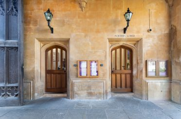 Works included the creation of a new entrance, which replaced an existing window, with new stonework installed to match the existing doorway while the existing door was refurbished.