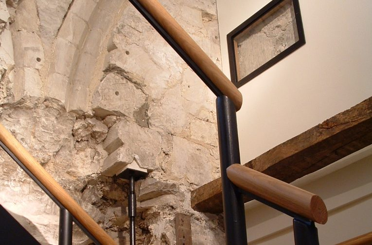 The spatial reorganisation of the Master's Lodge to provide increased Fellows' accommodation Jesus College made it necessary to create a new stair.
