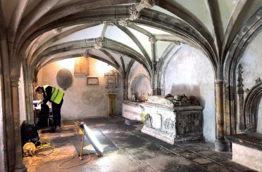 Members of Donald Insall Associates' Bath office attended a talk and workshop on Friday at St John on the Wall— a medieval church built in to Bristol's city walls