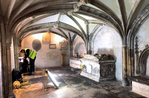 Restoration of historic Bristol clock underway with Insall donation