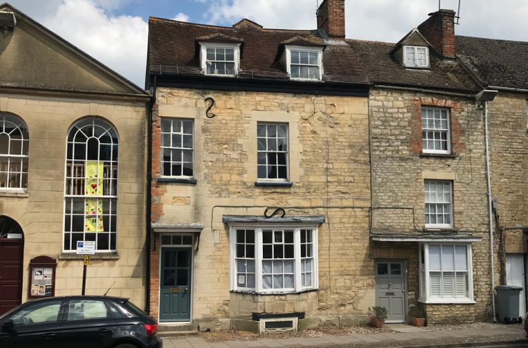 Our research in Woodstock has demonstrated that the building was altered in the early 19th century as well, and that considerable historic fabric remains within the building. We undertook detailed research and fabric analysis in order to explain the building's history and development.