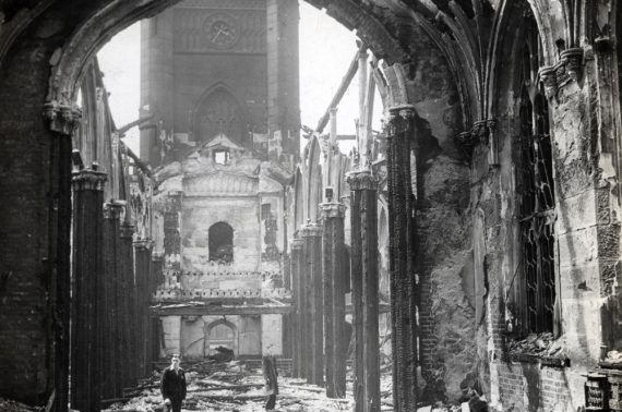 Curating Catastrophe: The Enduring Legacy of Bombed Churches as War Memorials