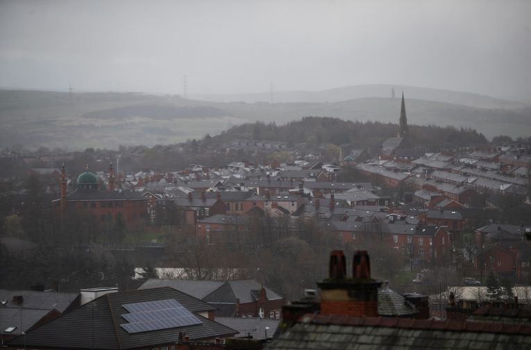 A birds-eye view of Oldham. Photos © Jody Hartley.
