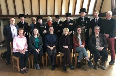 Donald Insall Associates has been appointed for conservation services at the Lord Leycester Hospital, pictured here are the working team