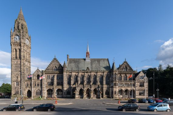 National Lottery grant secured for major Rochdale Town Hall revamp