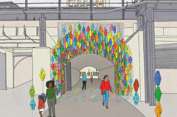 The Story Walk shortlisted for LFA's Arch 42 Gateway Competition