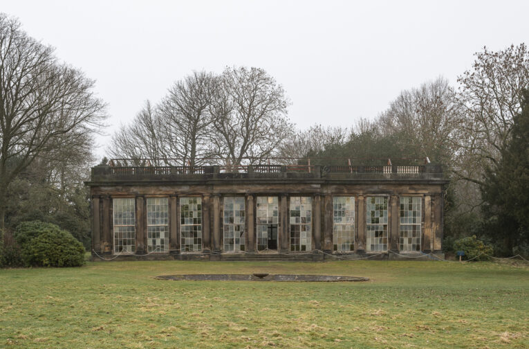 The facade of the Camellia House at Wentworth Woodhouse